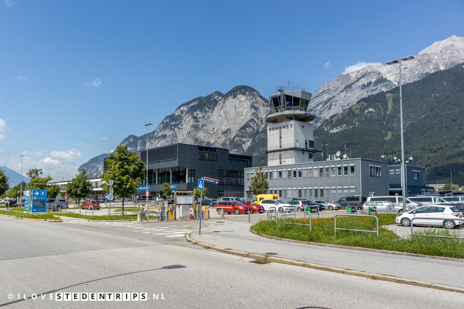 Via Innsbruck Airport op Innsbruck vliegen.