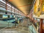 Centrale hal van Innsbruck Hauptbahnhof Hbf