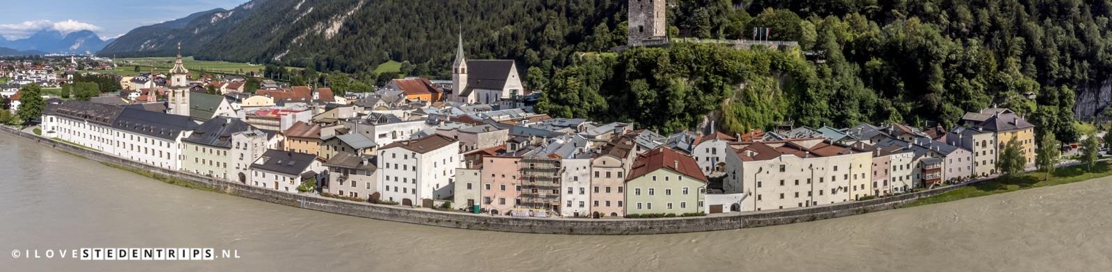 Luchtfoto Rattenberg Oostenrijk