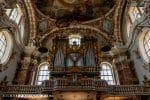 Orgelgalerij in Dom van Innsbruck