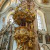 Kansel in de Dom van Innsbruck